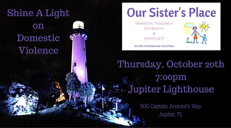 Shine a Light on Domestic Violence Awareness Event — Our