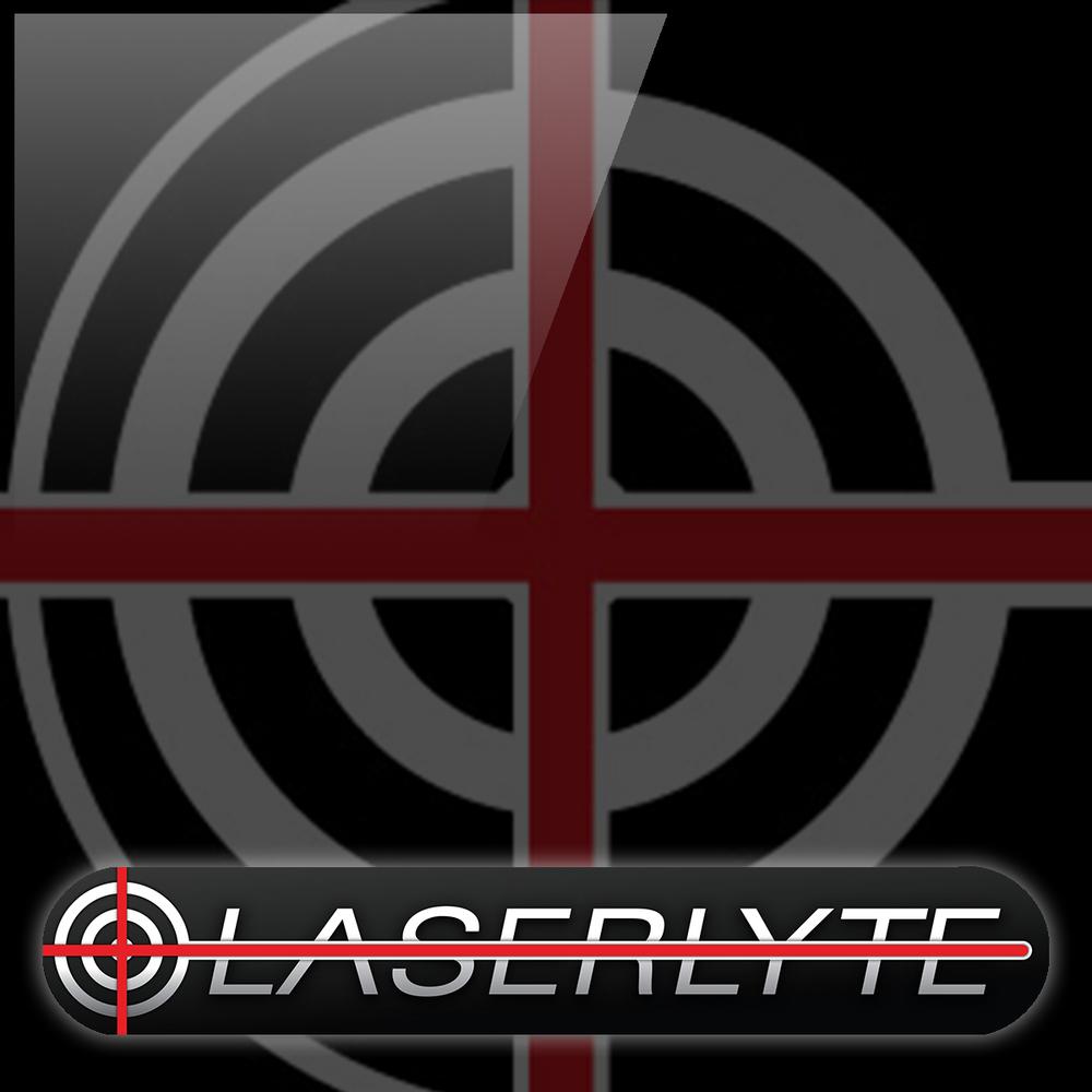 Laserlyte logo White Glossy Logo by Graham Hnedak Brand G Creative 06 JAN 2016.jpg