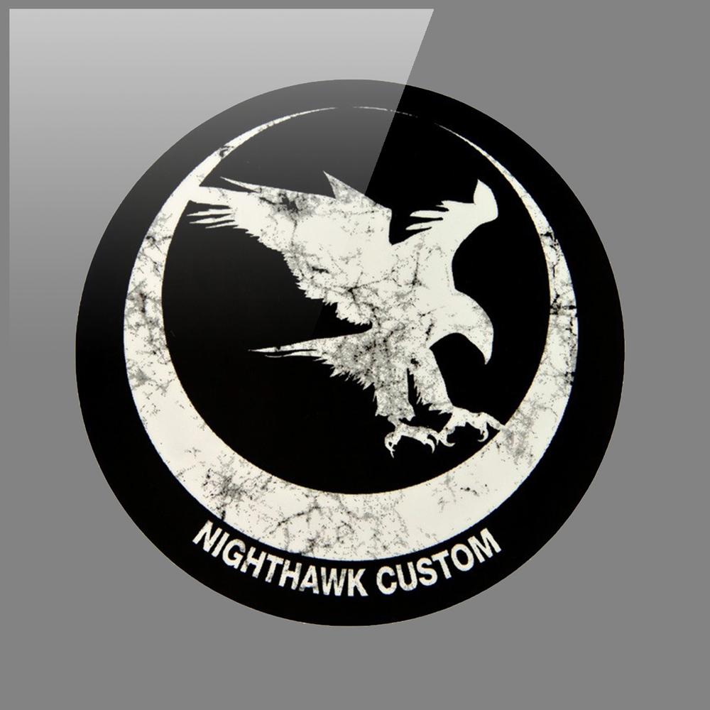 Nighthawk Custom Logo White Glossy Logo by Graham Hnedak Brand G Creative 06 JAN 2016.jpg