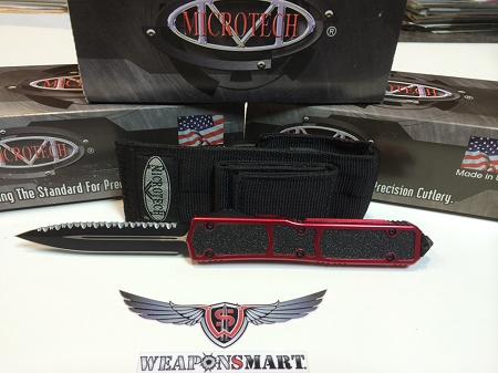 Microtech Makora II with D/E Full Serration