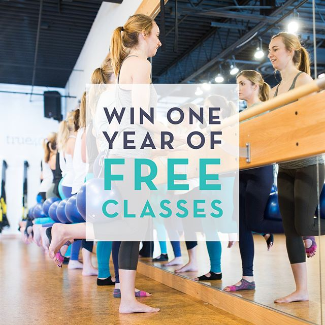 || G I V E A W A Y || To celebrate the end of summer, we are giving away ONE YEAR of unlimited True40 classes! Yes, you read that right - one whole year of classes! The 2nd place winner will receive a 6 month class package and the 3rd place winner will receive a 1 month class package. Want to enter? Here's how: 1. Follow @true40studio 2. Follow us @true40auburn  3. Tag 3 friends below  For an extra entry, screenshot our instagram story graphic and repost on your story and let us know why you love True40!  The giveaway beings today and ends Friday at noon! We will announce the winners on instagram live Friday afternoon. **this giveaway is not affiliated with, endorsed by or sponsored by instagram in any way**