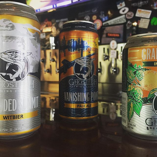 If your body isn't a fan of Gluten, we've got something new for you! The Collective is proud to be carrying #glutenfree #beer from @ghostfishbrewco #now!