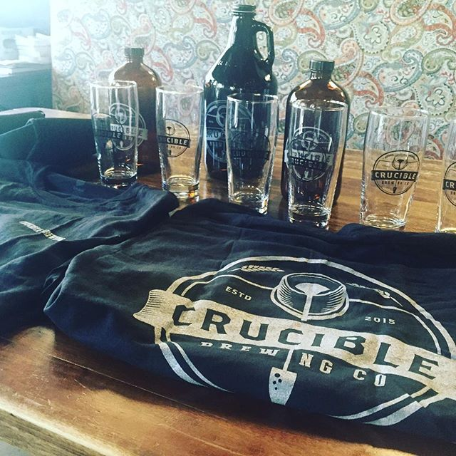 @cruciblebrewing is here for a beautiful Monday with some delicious beer! Come join the fun.