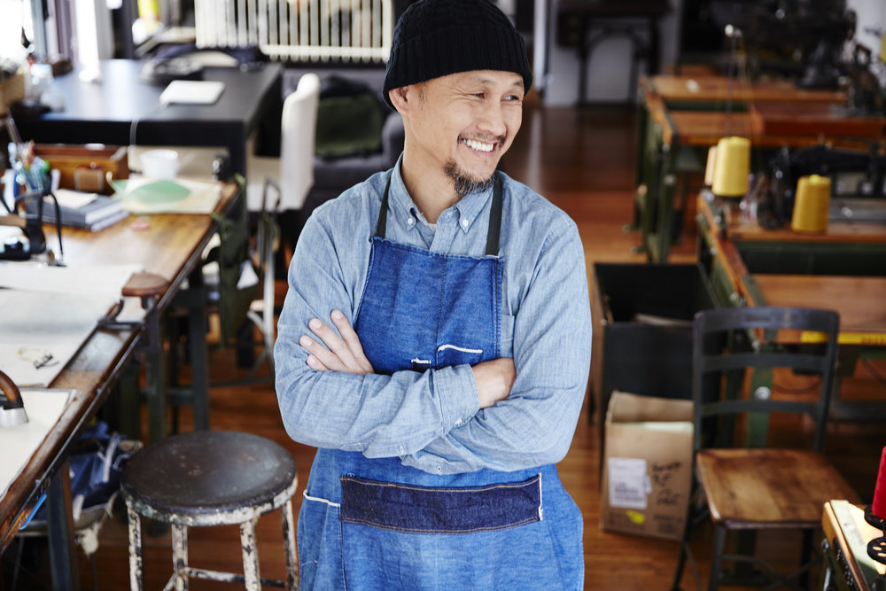 Takayuki Echigoya, Founder of Blue Bowery Makers  Photo Matt Hind