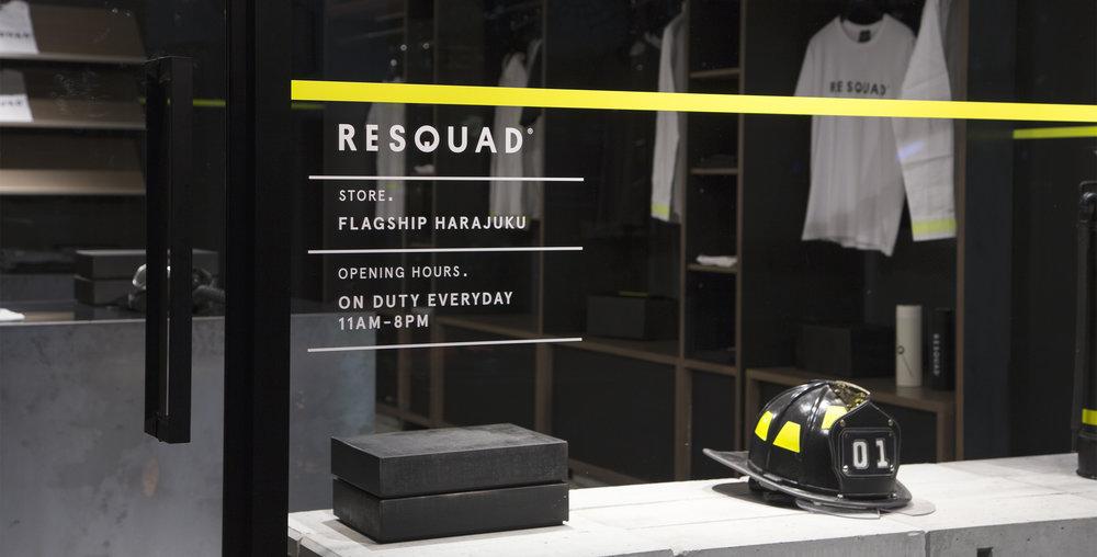 Branding, Diseño de Interiores y Logotipo para RESQUAD - Futura