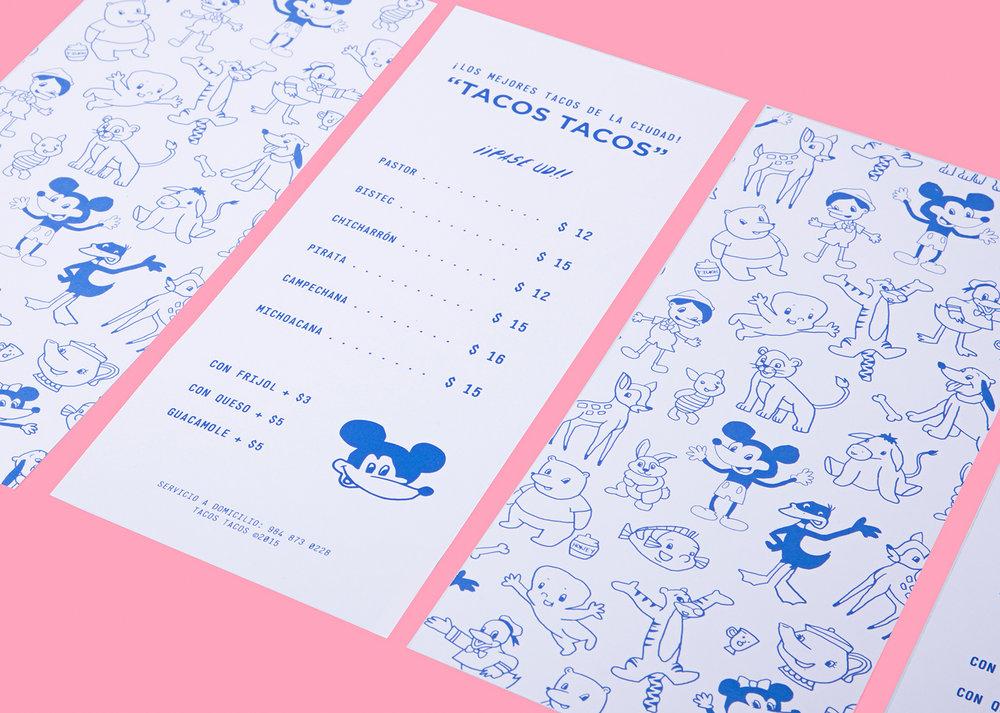 Branding para TACOS TACOS - Futura