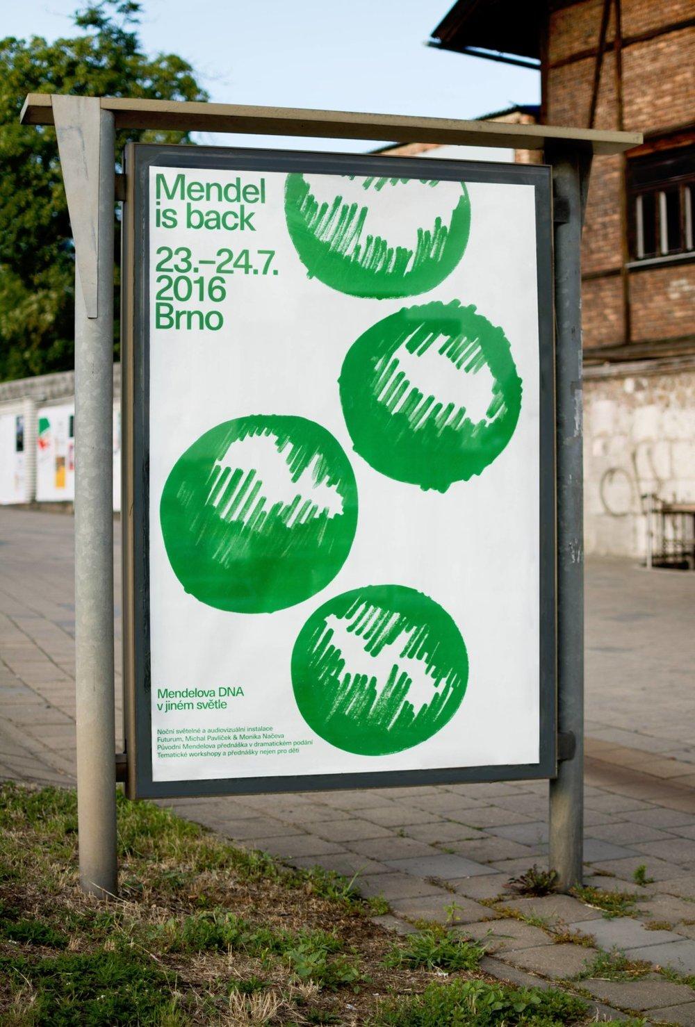 Poster para Mendel is back  —Ondrej Báchor