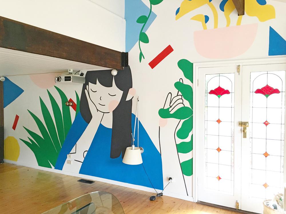 Mural —Carla McRae