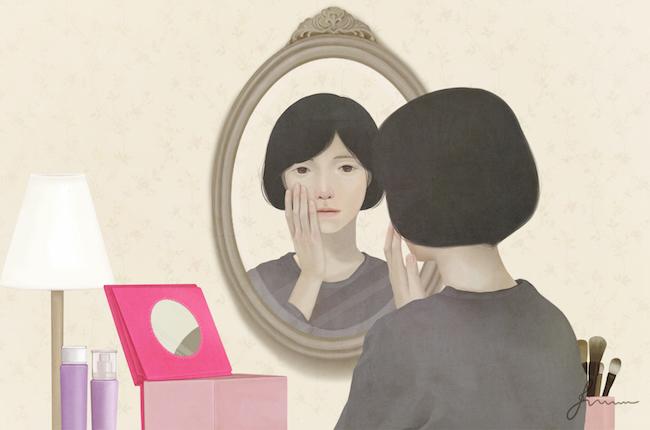Ilustración para Amore Pacific's campaign —Jiwoon Pak