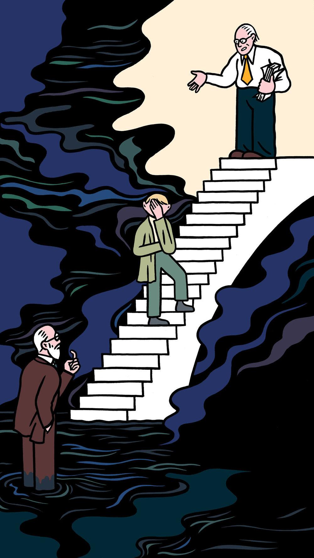 Ilustraciones para The Guardian —Pete Gamlen