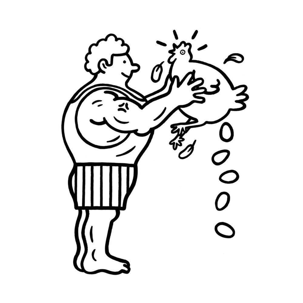 Ilustraciones para Men's Fitness —Pete Gamlen