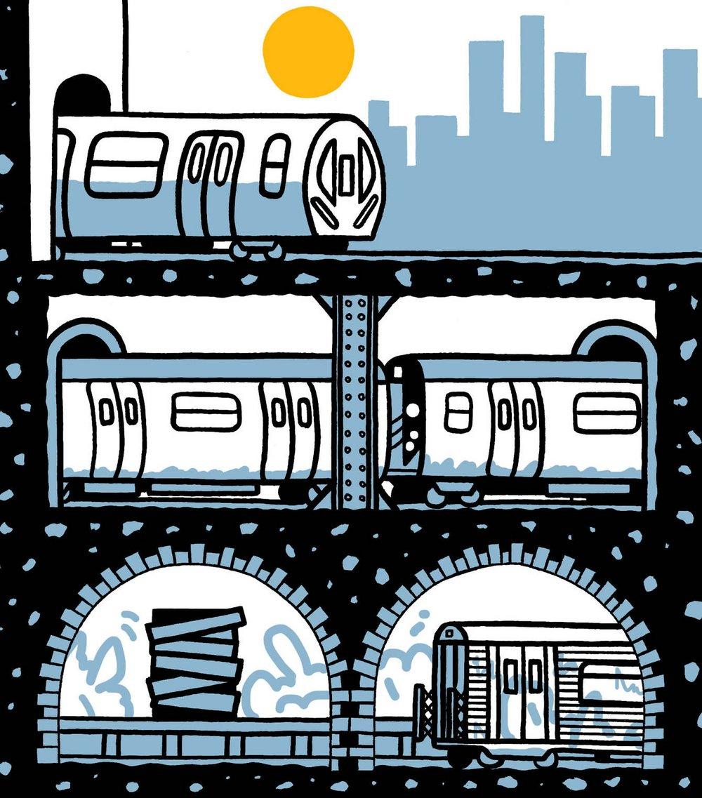 Ilustraciones para The New York Times —Pete Gamlen