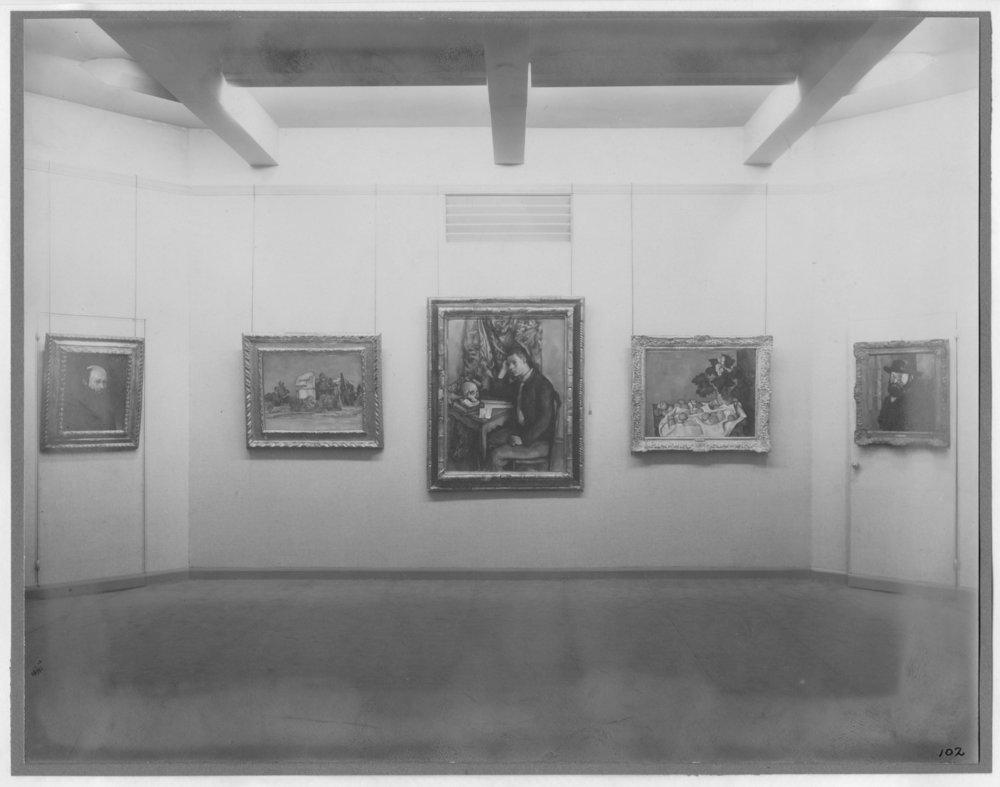 Cézanne, Gauguin, Seurat, Van Gogh / 1929 — MoMA