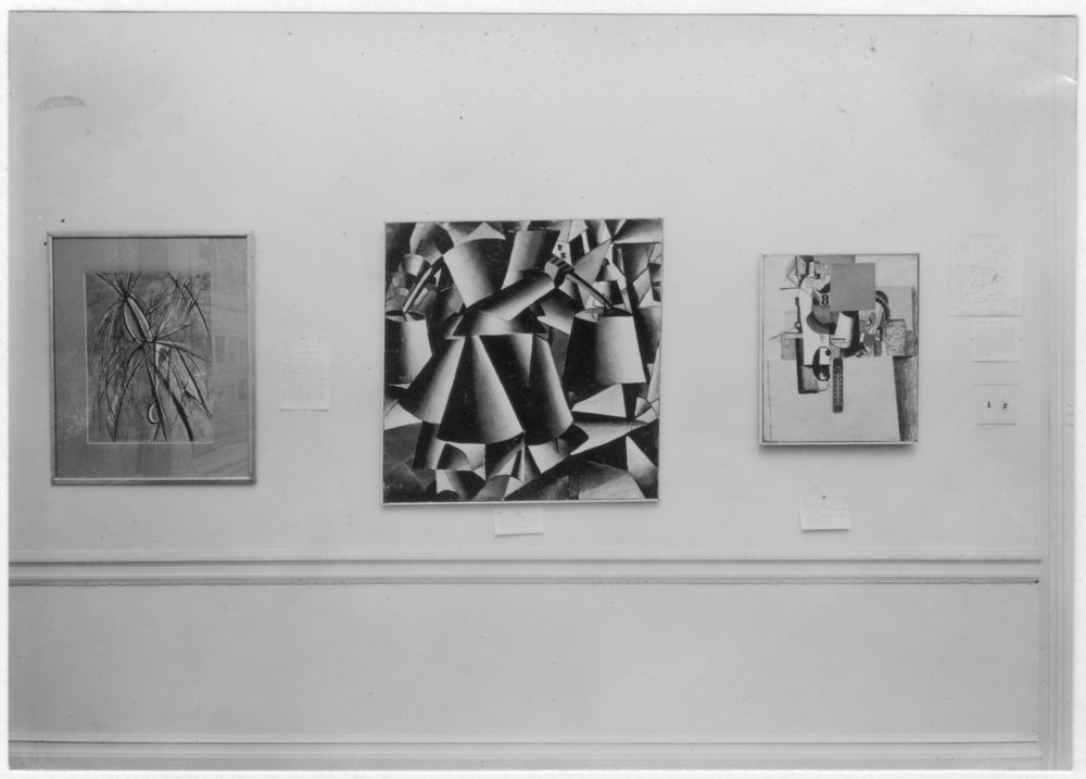 Cubism and Abstract Art / 1936 —MoMA