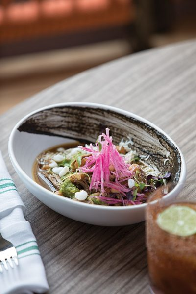 Duck Pozole.  Photo by Christopher Villano