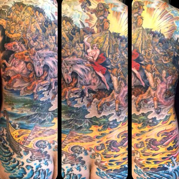 body-suit-tattoos-battle-horses-fire-water-thor.jpg