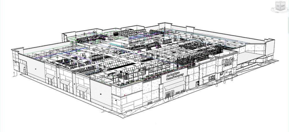 WinCo Foods Store (BIM rendering)