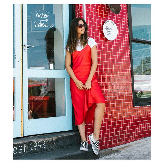 Red hot new arrivals ❣️ Available online now #luluandrosethelabel
