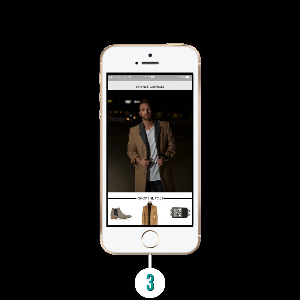 Chance Okonski LIKEtoKNOW.it app