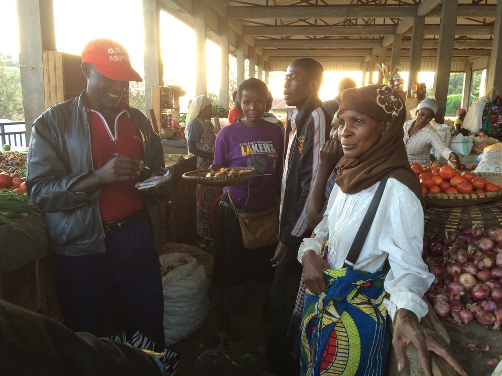 Kibuye market.