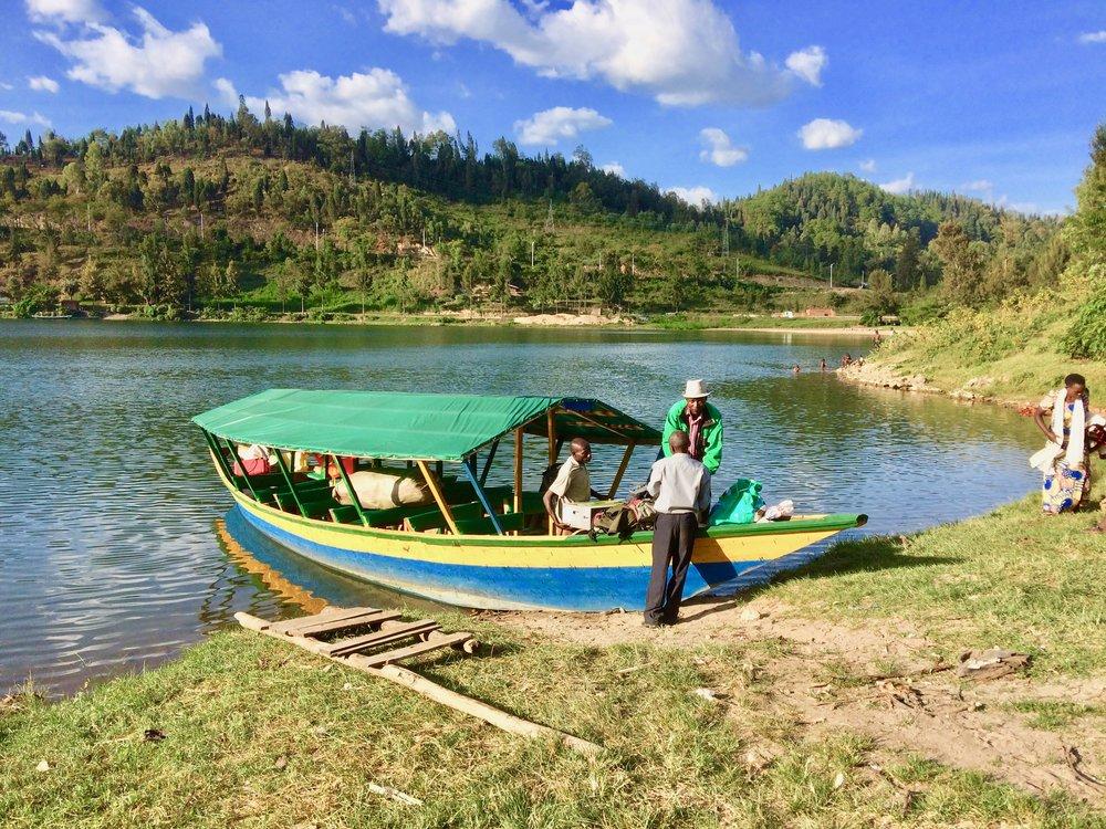 VRUK's Gasundwe Boat