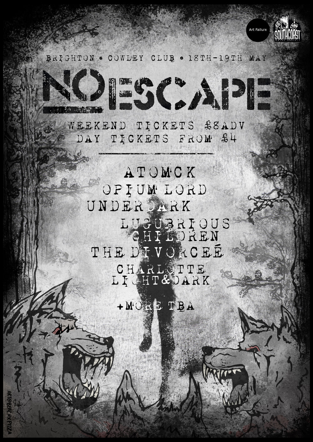 BW POSTER NO ESCAPE.jpg