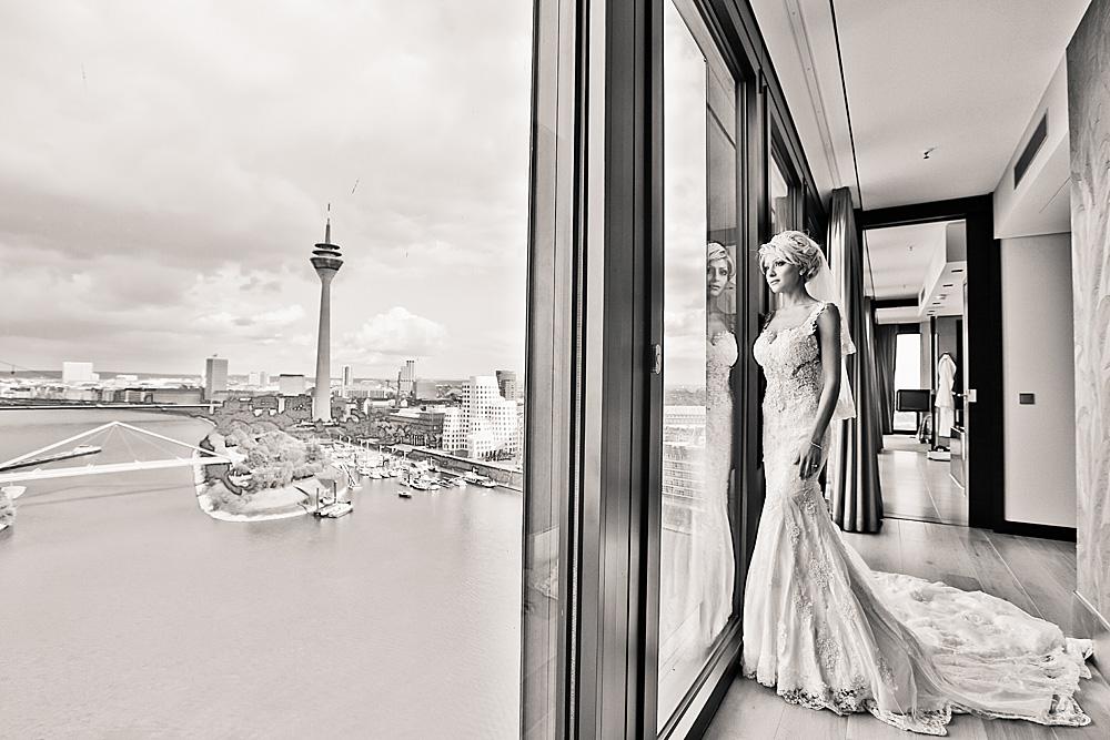 Hochzeit in  Düsseldorf   - im Hotel Hyatt