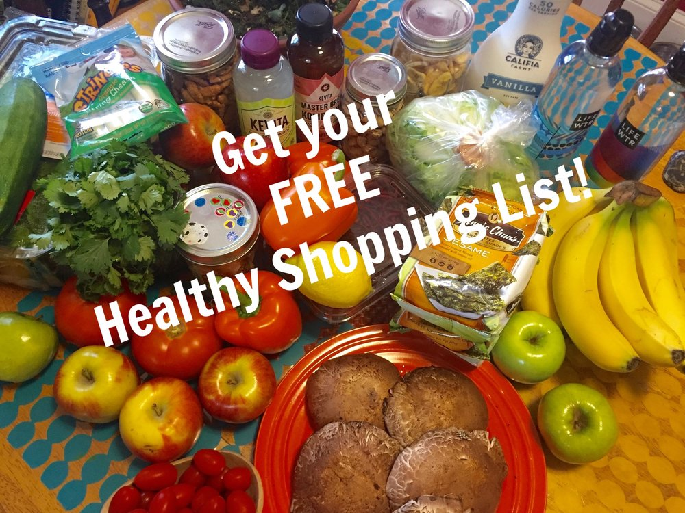 Grab your FREE Healthy Shopping list here!   - I am all about MAKING HEALTHY LIVING EASY FOR BUSY MOMS! Grab your FREE HEALTHY SHOPPING LIST NOW!