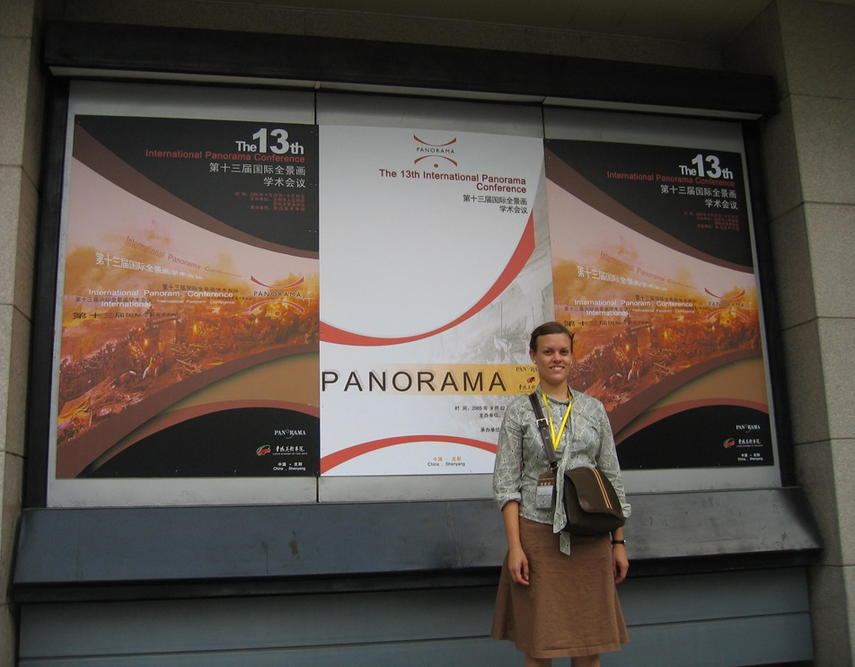 Sara Velas at the 13th Annual IPC Conference in Shenyang, September 2005