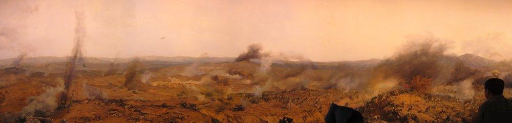 Storming Jinzhou  panorama painting