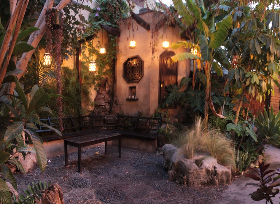 Pavilion of the Verdant Dream  in the gardens of the Velaslavasay Panorama photo credit: Velaslavasay Panorama
