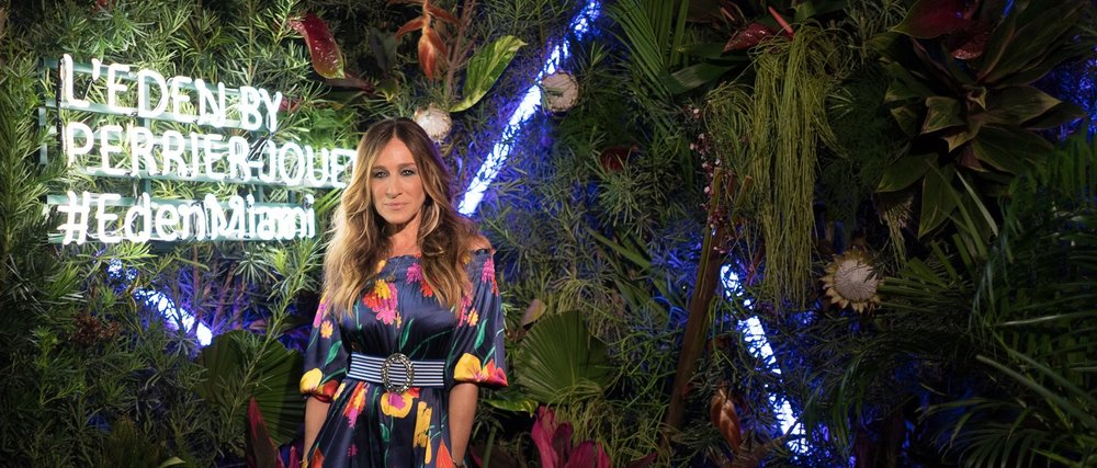 Sarah Jessica Parker at Perrier-Jouët's L'Eden event in Miami