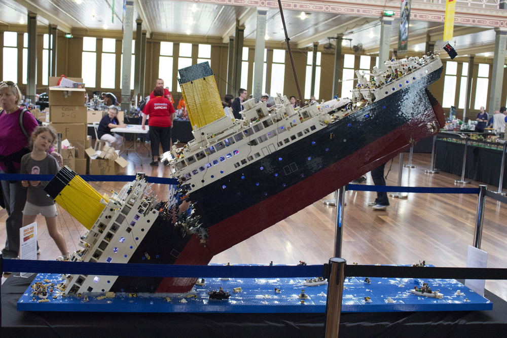Ryan McNaught's incredible Titanic