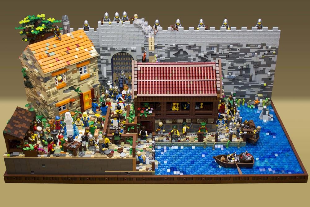 My 2016 LEGO MOC, The Market Gate