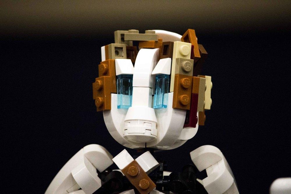 The Bio-mechanical Man by Brad Wilson