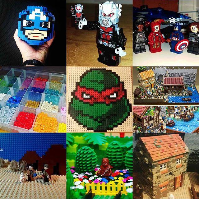 Happy New Year from #Bricktease, thank you for your support all year. #lego #newyears #bestnine2016 #afol #bricktease #bricks #brick #toy #lego #legophoto #legos #minifig #minifigs #marvel #starwars