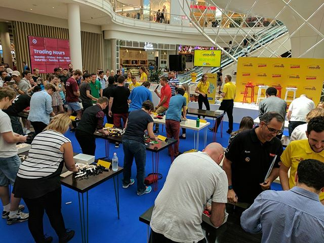 Surprised to find myself at the #LEGOfactor in Melbourne! #lego #afol. Competition to find the master builder for the new LEGO Discovery Centre in Melbourne!