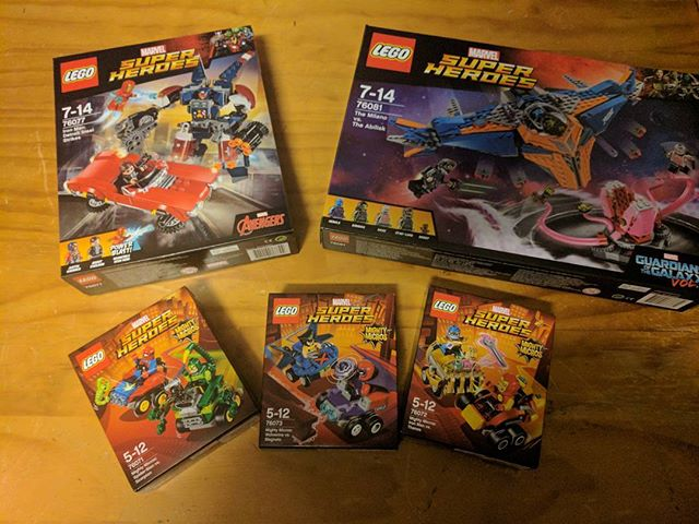 I finally get some Lego time. Which to build first? #lego