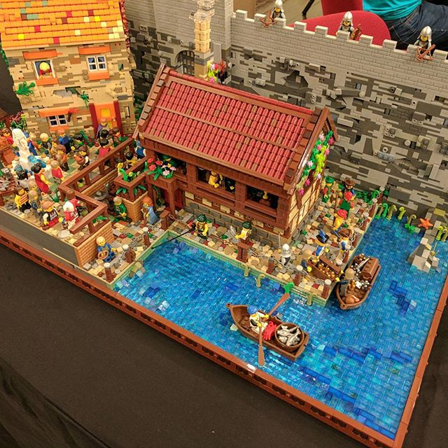 I'm all set up at the #sydneybrickshow. Come say Hi! #lego #sydney #afol #bricktease #brick #bricks #legophoto #toyphoto #legobrick #minifig