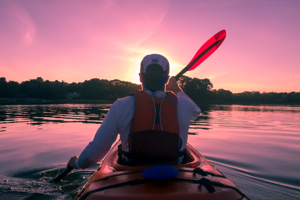 """A great way to cut expenses is to focus on experiences rather than extra """"stuff"""". Canoeing is the experience that keeps on giving"""