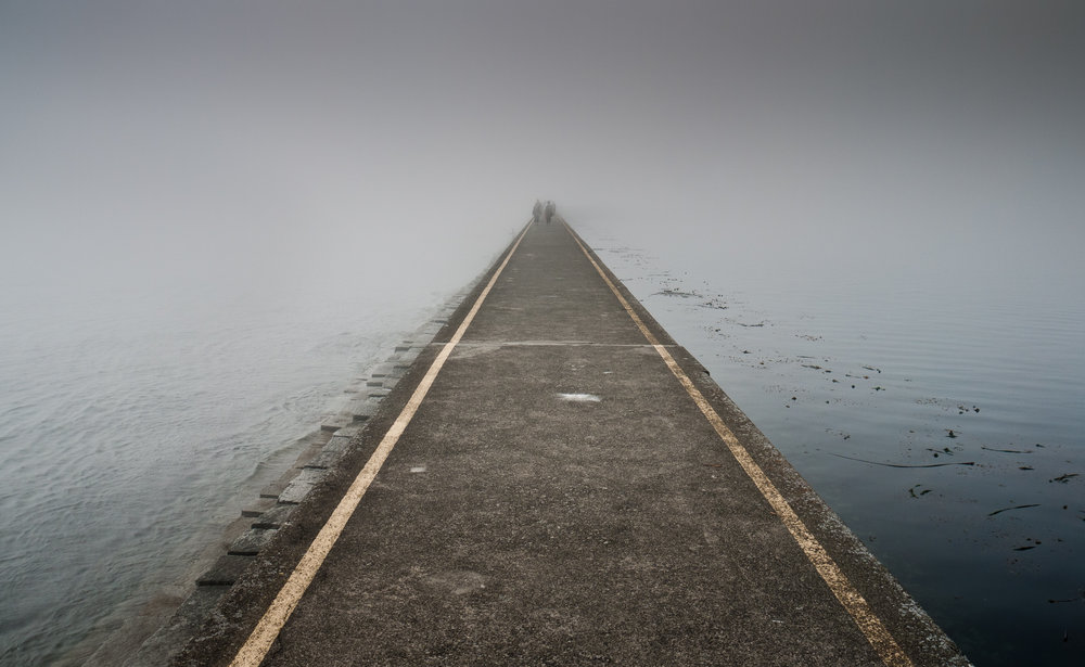 Your path to the destination is probably different or at least unique to other people