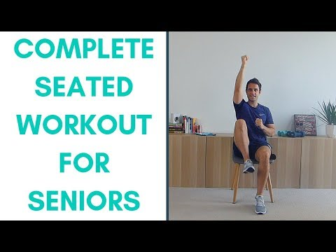 Seated Exercise Videos — More Life Health | Seniors Health