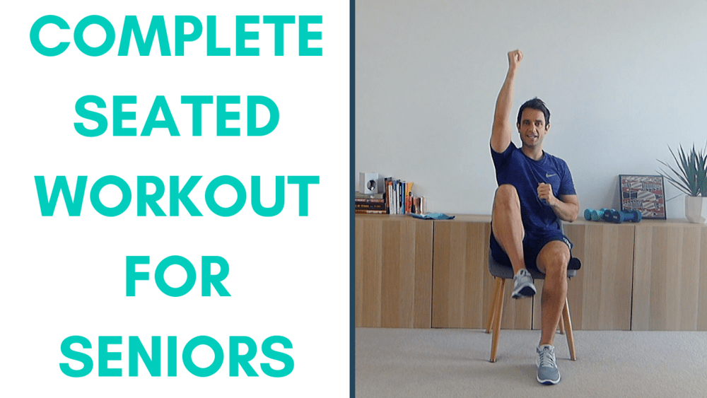 Complete Seated Body Workout For Seniors (25 Mins) — More