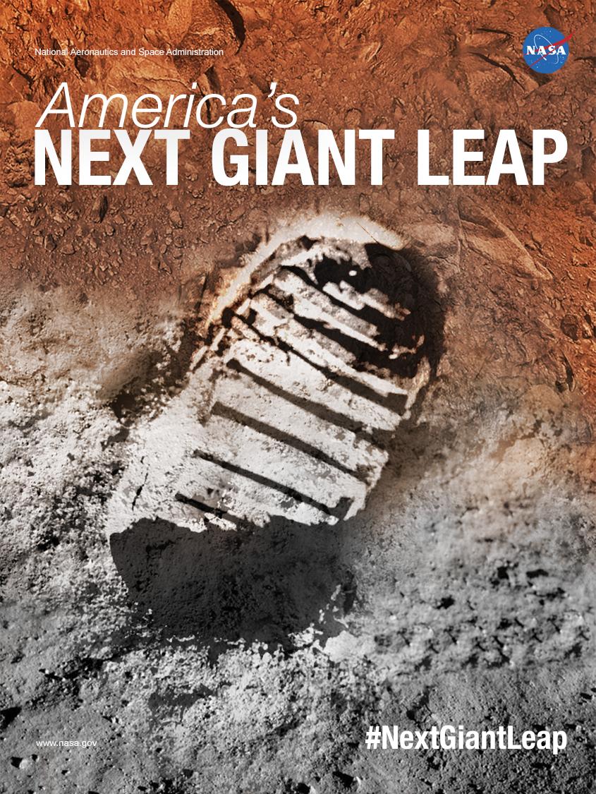 Poster design for the 45th anniversary of Apollo 11