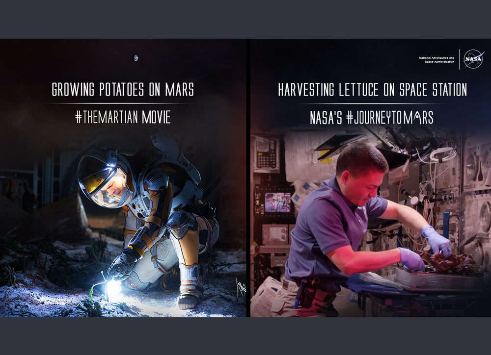 Science Fiction vs Science Fact /The Martian Movie and NASA's Journey to Mars