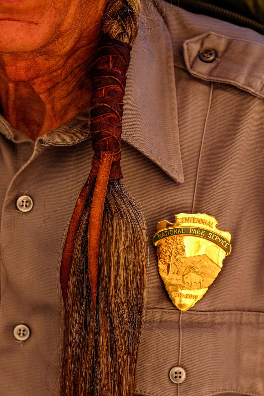 National Park Service ranger,Mesa Verde National Park, Colorado, USA