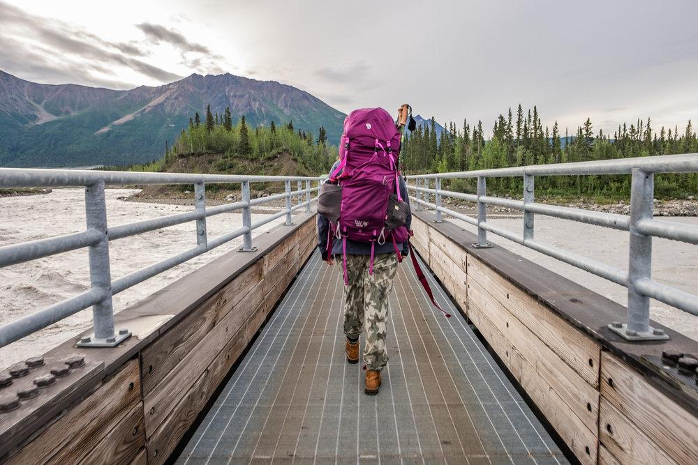 En route to McCarthy, Alaska