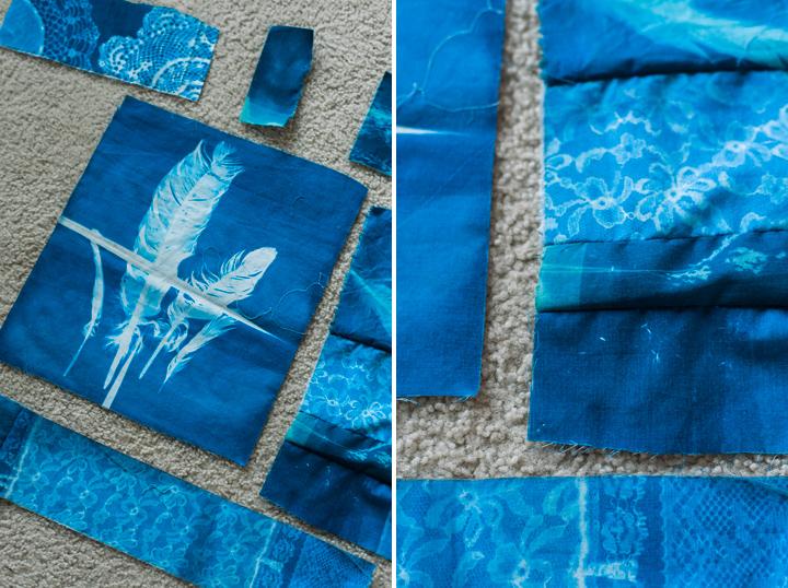 cyanotype scraps (c) jocelyn mathewes
