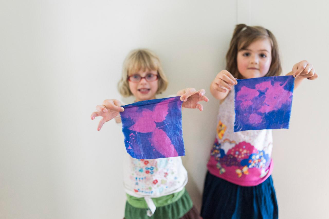 sun prints with children (c) jocelyn mathewes