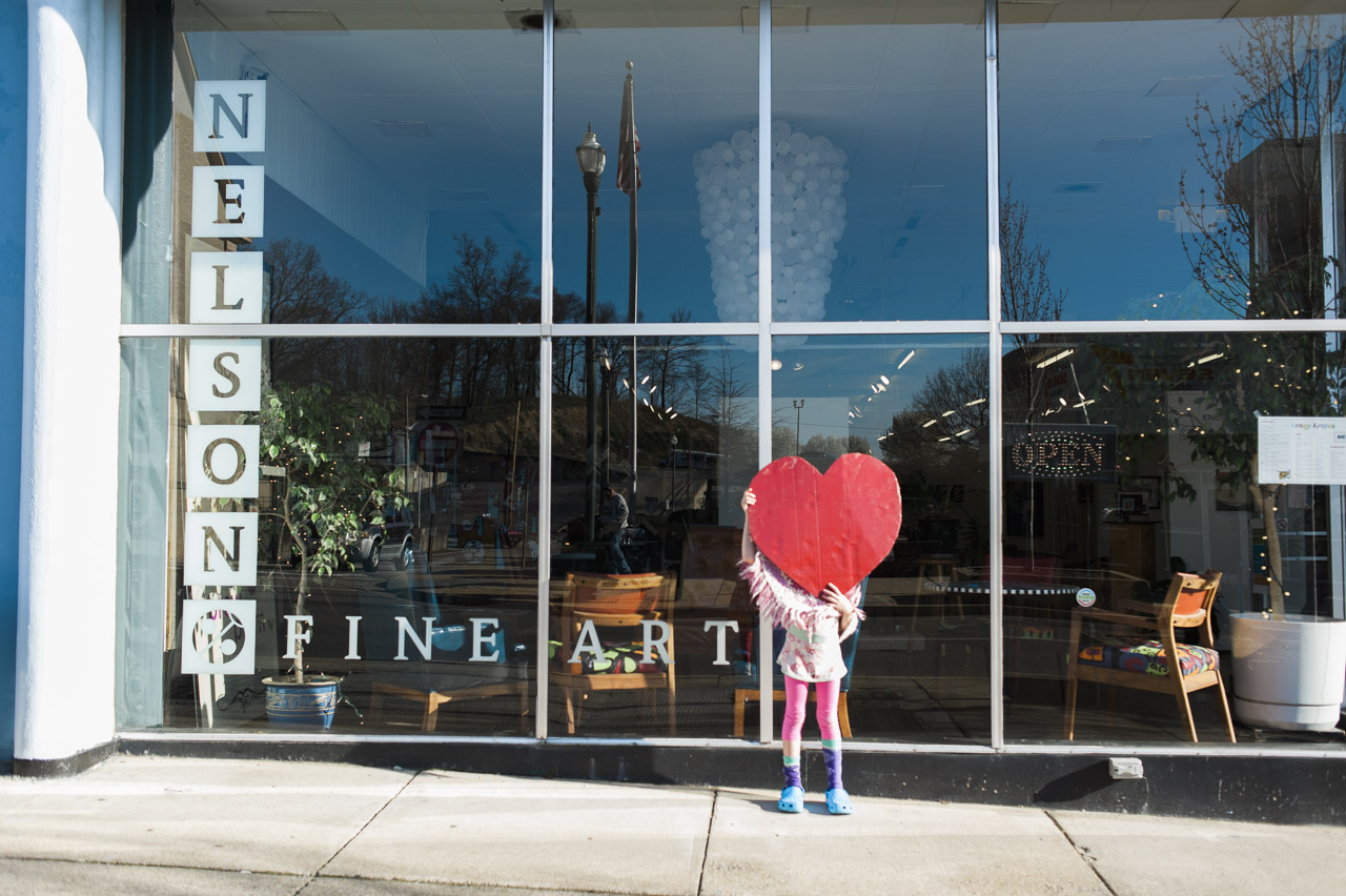 i heart johnson city | Nelson Fine Art
